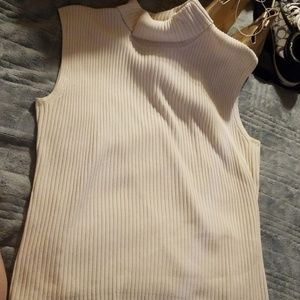 Chico's sleeveless turtleneck